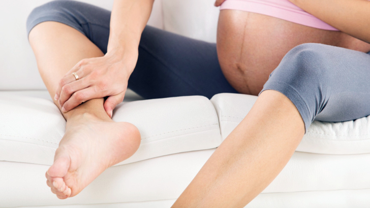 How to treat swollen feet (Oedema) during pregnancy?