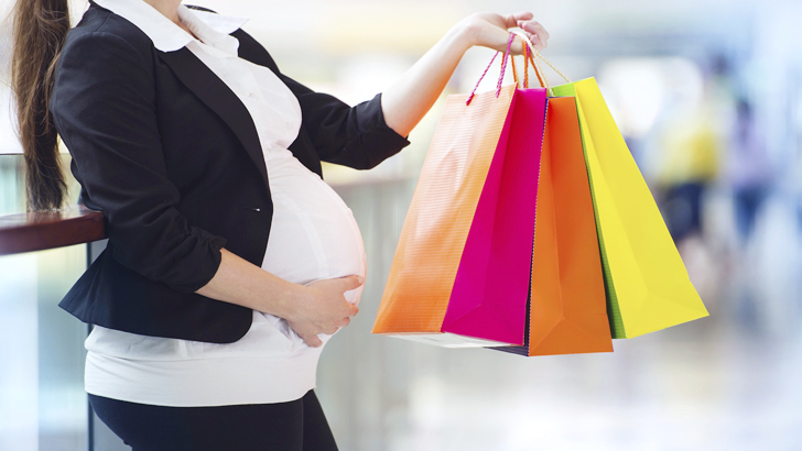 Some shopping tips for pregnant women