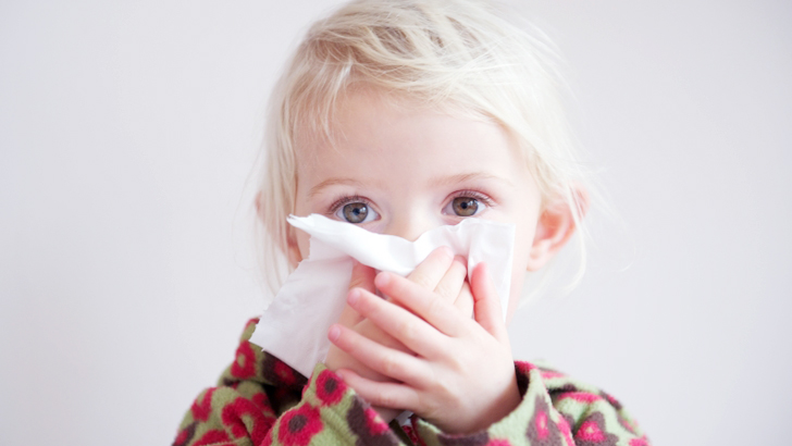 Top 10 fastest ways to help babies get rid of flu and colds