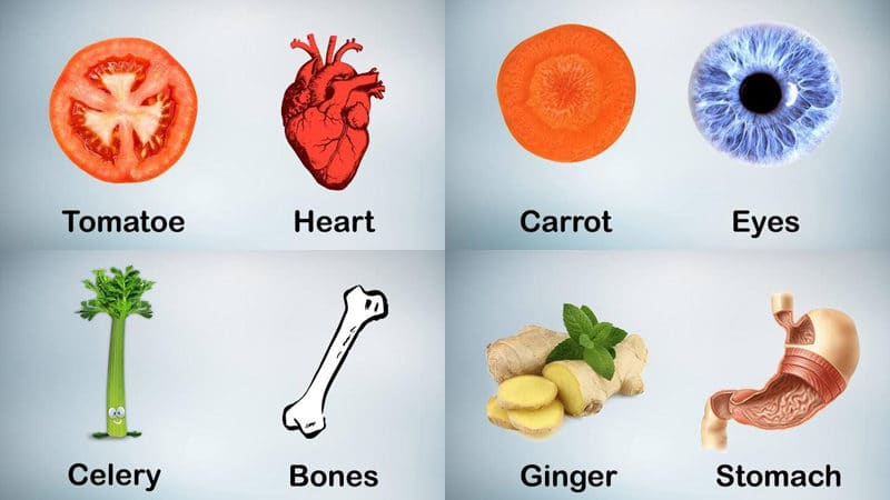 Healthy Tips | Foods That Resemble The Body Parts They're Good For