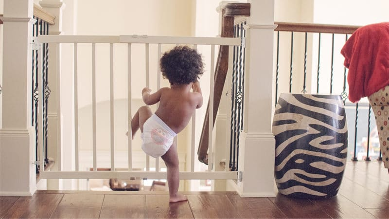 The complete guide to Baby proofing your home