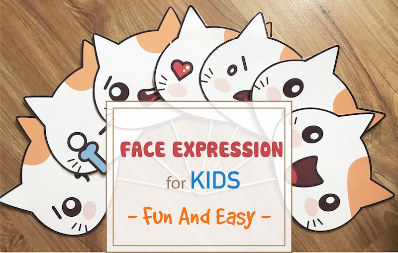 Facial Expressions: DIY Emoji Game For Toddlers