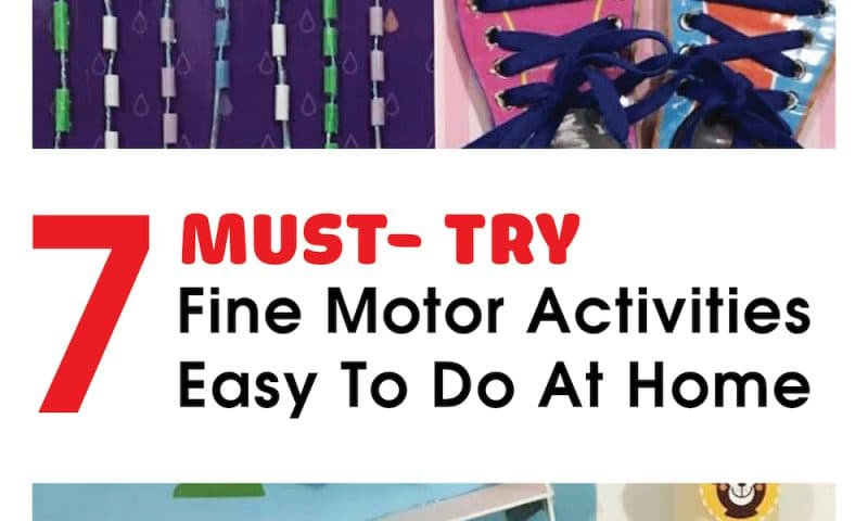 7 Must-Try Fine Motor Activities For Toddlers